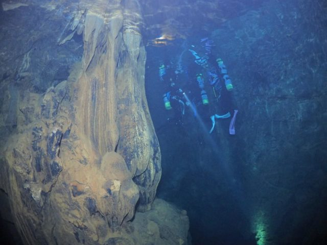 辺戸岬海底鍾乳洞